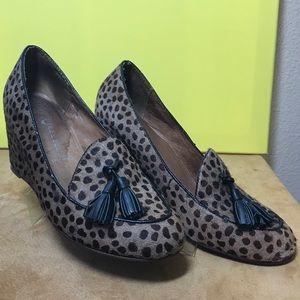 Jeffrey Campbell Animal Print Leopard Wedges  Shoe
